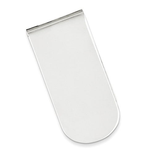 Sterling Silver Curved Money Clip