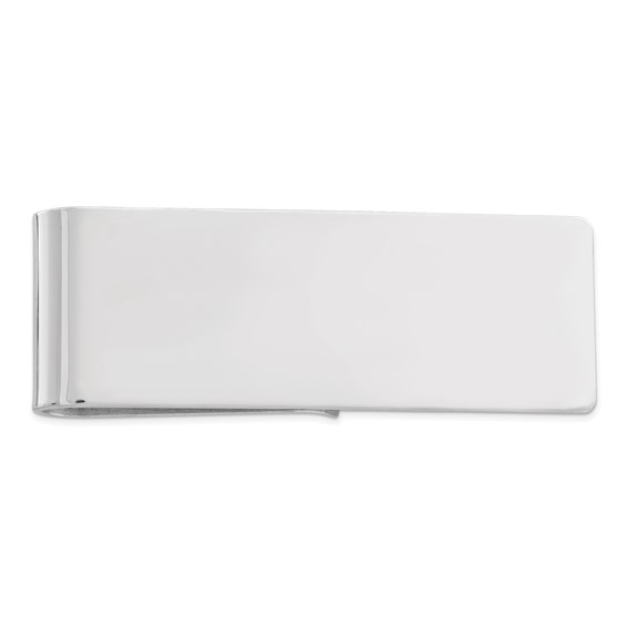 Sterling Silver 2in Smooth Money Clip