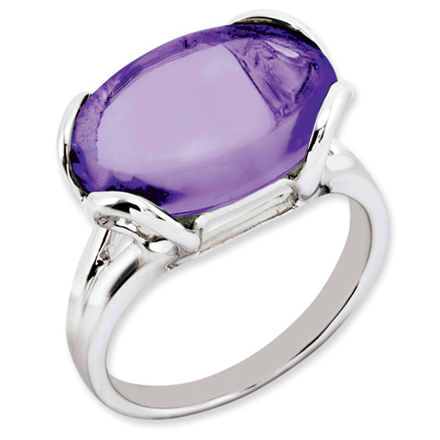 8.5 ct Sterling Silver Amethyst Ring