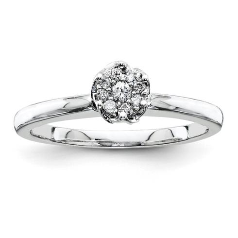 1/10ct Diamond Promise Ring