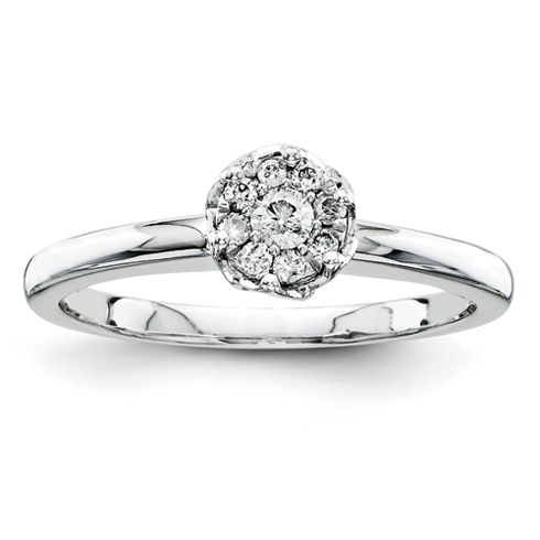 1/6ct Diamond Promise Ring