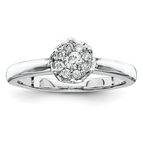 1/5ct Diamond Promise Ring