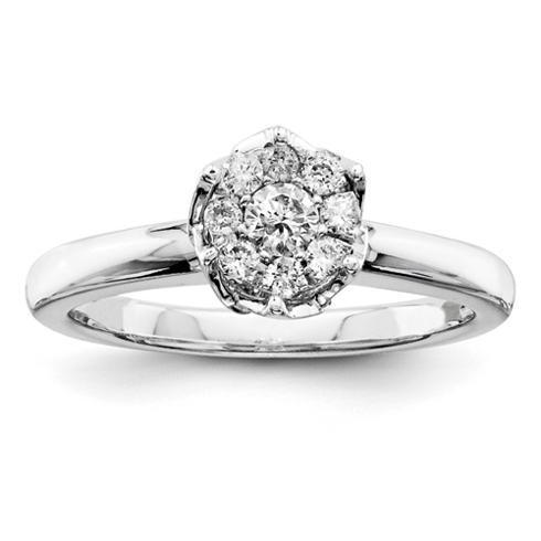 1/4ct Diamond Promise Ring