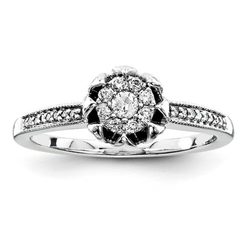1/5ct Diamond Promise Ring
