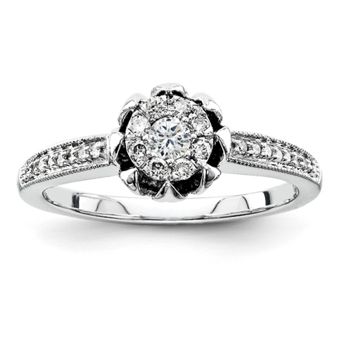 1/4ct Diamond Promise Ring
