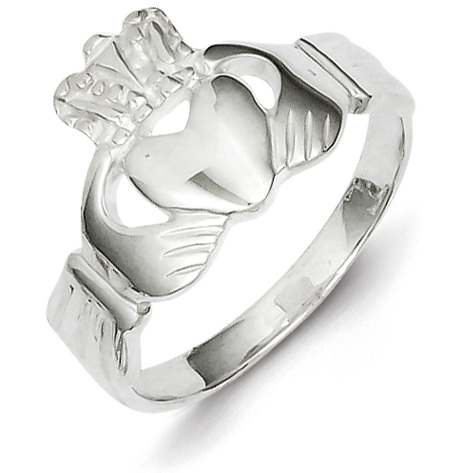 Claddagh Ring Size 6 - Sterling Silver