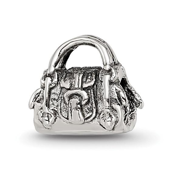 Sterling Silver Reflections Kids Handbag Bead