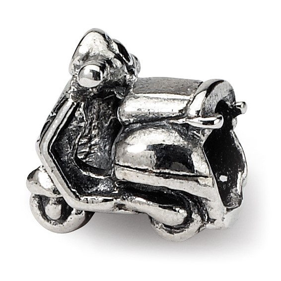 Sterling Silver Reflections Kids Scooter Bead