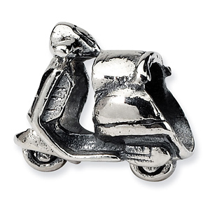 Sterling Silver Reflections Scooter Bead