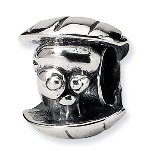 Sterling Silver Reflections Kids Oyster Bead