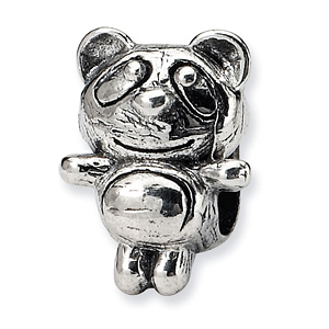 Sterling Silver Reflections Kids Baby Panda Bead