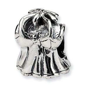 Sterling Silver Reflections Kids Shirt Bead
