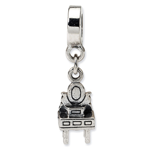 Sterling Silver Reflections Kids Vanity Dangle Bead