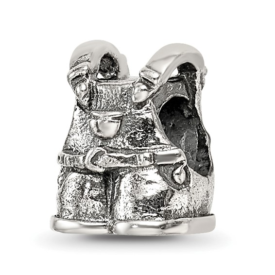 Sterling Silver Reflections Kids Overalls Bead