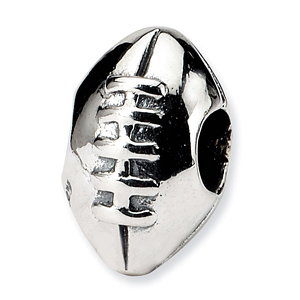 Sterling Silver Reflections Kids Football Bead
