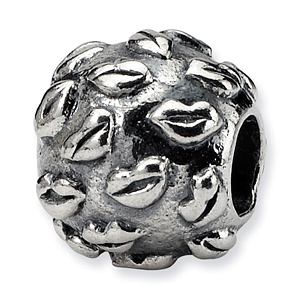 Sterling Silver Reflections Kids Lips Bead