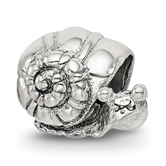 Sterling Silver Reflections Kids Snail Bead