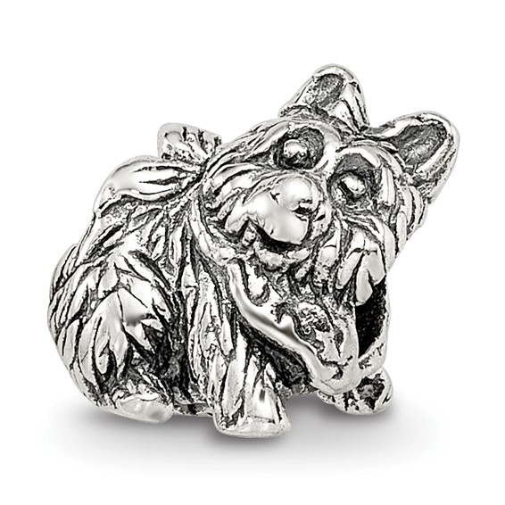 Sterling Silver Reflections Kids Dog Bead