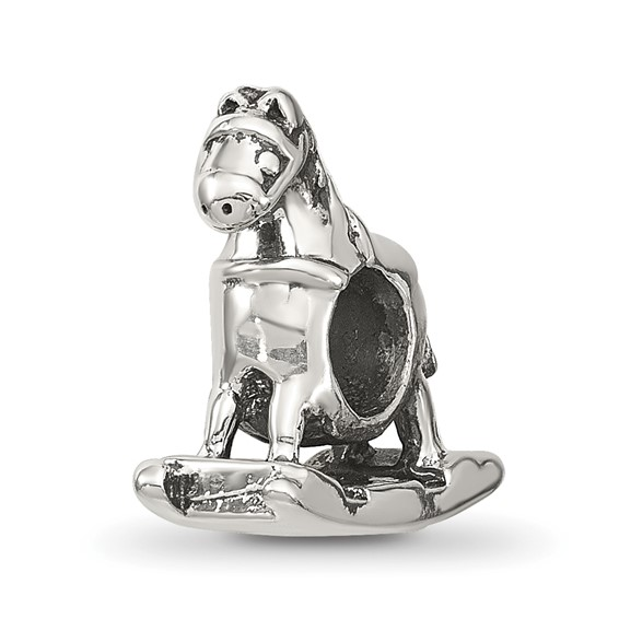 Sterling Silver Reflections Rocking Horse Bead