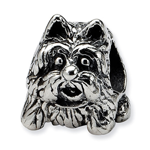 Sterling Silver Reflections Scottish Terrier Dog Bead