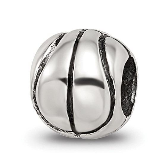 Sterling Silver Reflections Kids Basketball Bead