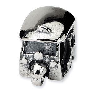 Sterling Silver Reflections Delivery Cart Bead