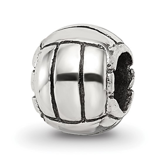 Sterling Silver Reflections Kids Volleyball Bead
