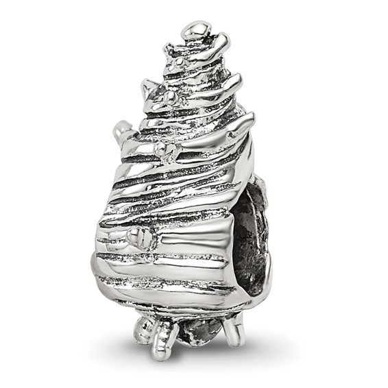 Sterling Silver Reflections Shell Bead