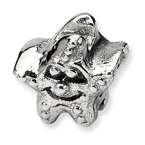 Sterling Silver Reflections Kids Starfish Bead