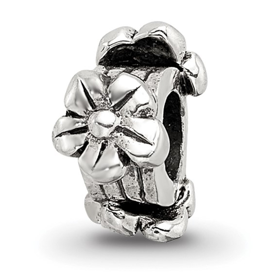 Sterling Silver Reflections Kids Flowers Bead