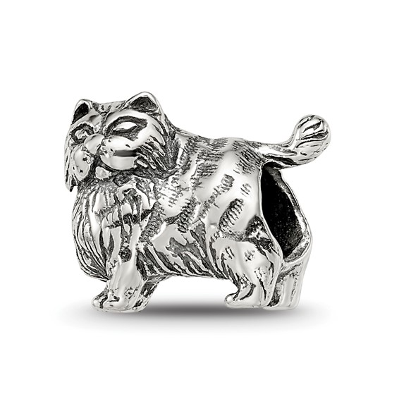 Sterling Silver Reflections Persian Cat Bead