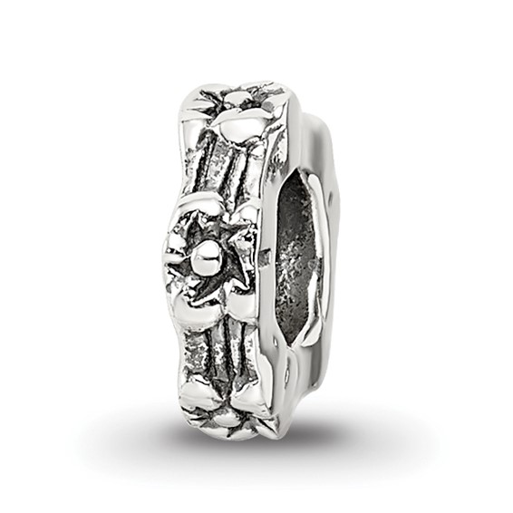 Sterling Silver Reflections Floral Spacer Bead