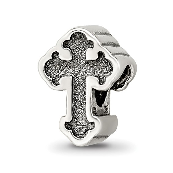 Sterling Silver Reflections Celtic Cross Bead