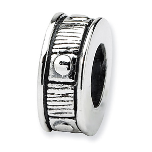 Sterling Silver Reflections Dot Spacer Bead
