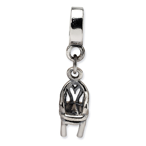 Sterling Silver Reflections Chair Dangle Bead