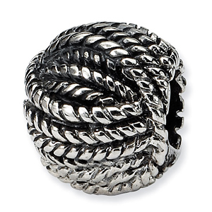 Sterling silver Reflections Ball of Yarn Bead