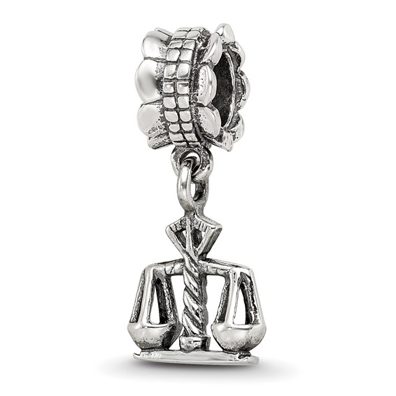 Sterling Silver Reflections Justice Dangle Bead