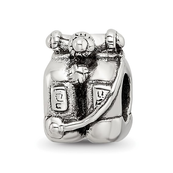 Sterling Silver Reflections Scuba Tanks Bead