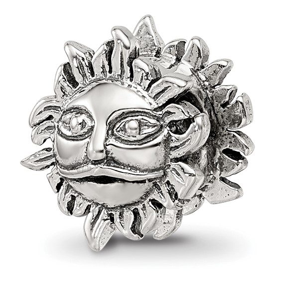 Sterling Silver Reflections Sun Bead
