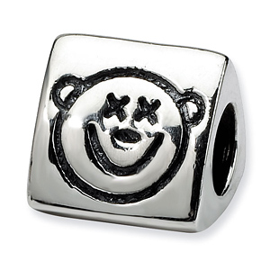 Sterling Silver Reflections Wise Monkey Trilogy Bead