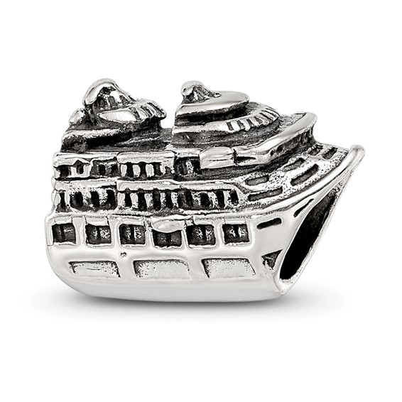 Sterling Silver Reflections Cruise Ship Bead