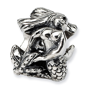 Sterling Silver Reflections Mermaid Bead