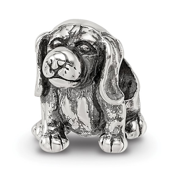Sterling Silver Reflections Beagle Bead