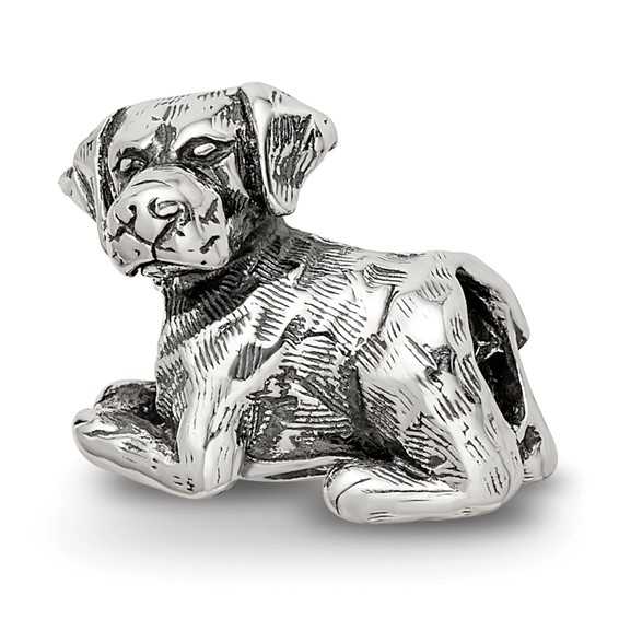 Sterling Silver Reflections Labrador Retriever Bead