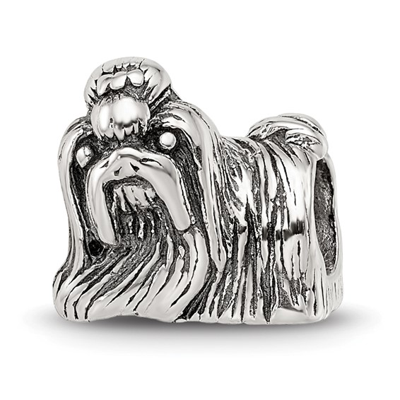 Sterling Silver Reflections Shi Tzu Bead