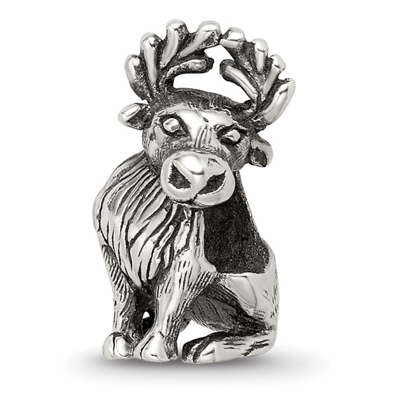 Sterling Silver Reflections Moose Bead