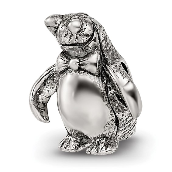 Sterling Silver Reflections Penguin Bead