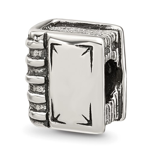Sterling Silver Reflections Book Bead