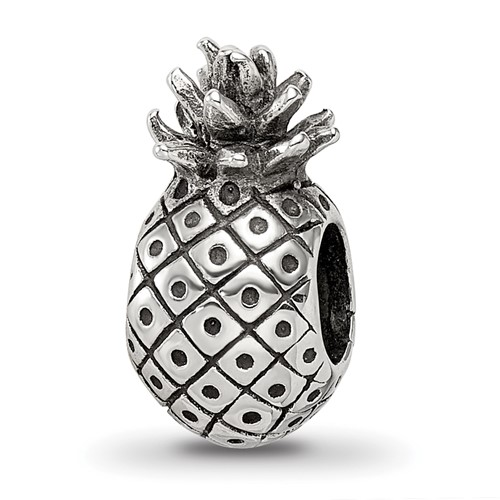 Sterling Silver Reflections Pineapple Bead