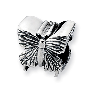 Sterling Silver Reflections Small Butterfly Bead